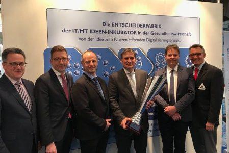 Unternehmens-/Klinikführer des Jahres 2017 der Entscheiderfabrik
